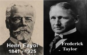 Henri Fayol, Frederik Taylor.