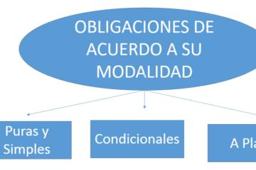 Obligaciones de acuerdo a su modalidad